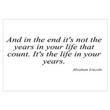 Abraham Lincoln quote 8 Wall Art