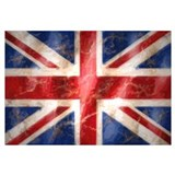 Cute Union jack Wall Art