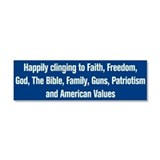 Anti Obama Car Magnet 10 x 3