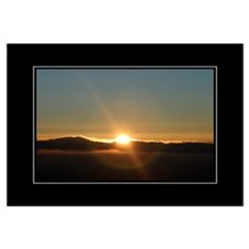 Sunrise Sunburst 16x20 Poster