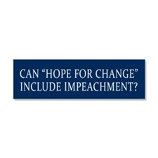 Impeachment Car Magnet 10 x 3