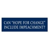 Impeachment Car Sticker