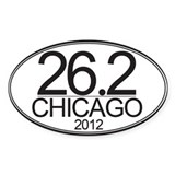 26.2 CHG Marathon Decal