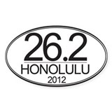 26.2 HON Marathon Decal