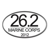 26.2 MC Marathon Bumper Stickers