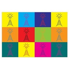 Amateur Radio Pop Art Wall Art