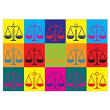 Criminal Justice Pop Art Wall Art