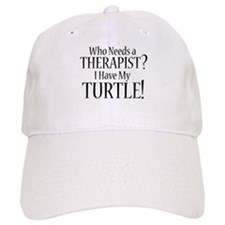 THERAPIST Turtle Baseball Cap