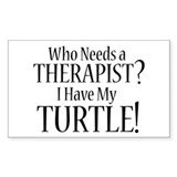 THERAPIST Turtle Decal