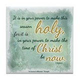 ACIM Keepsake Tile Coaster- It is in your power