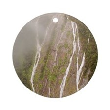 Milford Sound Ornament (Round)