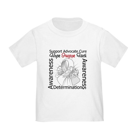 Lung Cancer Hope Inspiring Toddler T-Shirt