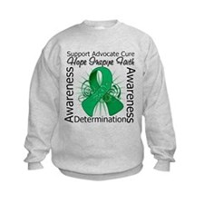 Liver Cancer Hope Inspiring Sweatshirt
