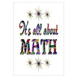 About Math Wall Art
