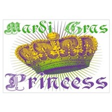 Mardi Gras Princess Wall Art