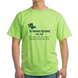 Roommate Agreement Music T-Shirt