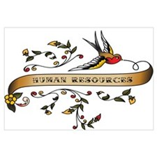 Human Resources Scroll Wall Art