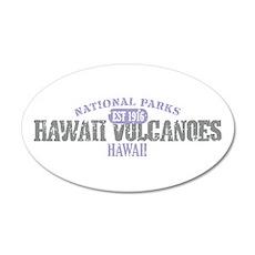 Hawaii Volcanoes Nat Park 38.5 x 24.5 Oval Wall Pe