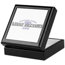 Hawaii Volcanoes Nat Park Keepsake Box