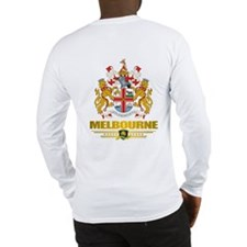 """Melbourne COA"" Long Sleeve T-Shirt"