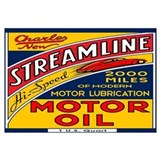 Streamline Motor Oil Wall Art