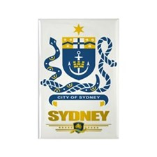 """Sydney Australia"" Rectangle Magnet"