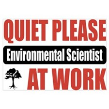 Environmental Scientist Work Wall Art