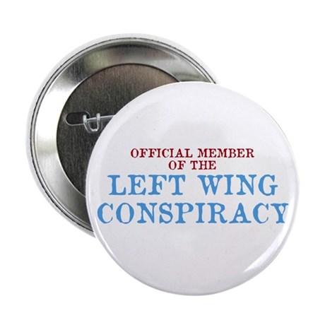 "OFFICIAL MEMBER OF THE LEFT W 2.25"" Button (100 pa"