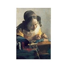 Vermeer Rectangle Magnet