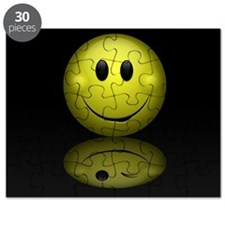 Mirror Smiley Face Puzzle