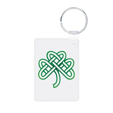 St. Patrick's Day Aluminum Photo Keychain