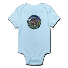 MoonGarden-Shih Tzu (blk) Infant Bodysuit