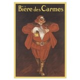 Biere De Carmes Vintage Adver Wall Art