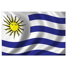 Flag of Uruguay Wall Art