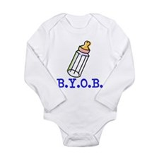"""BYOB"" - Long Sleeve Infant Bodysuit"