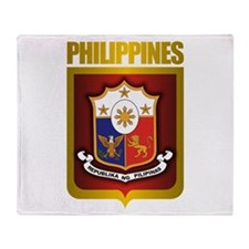 """Philippine Gold"" Throw Blanket"