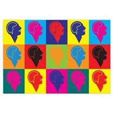 Psychology Pop Art Wall Art