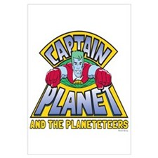 Captain Planet Logo Wall Art
