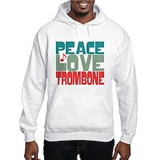 Peace Love Trombone Hoodie