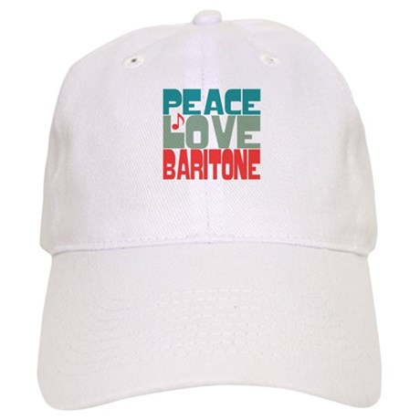Peace Love Baritone Cap