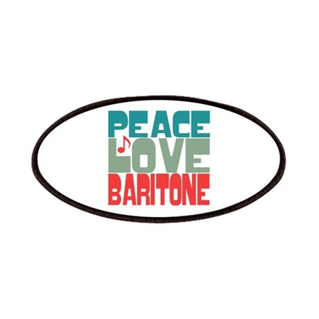 Peace Love Baritone Patches