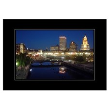 Downtown PVD 16x20 Poster