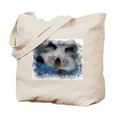 Blue-Eyed Himalan Tote Bag