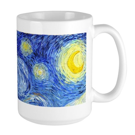 Van Gogh - Starry Night Large Mug