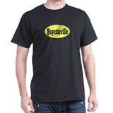 Fayetteville, North Carolina Black T-Shirt