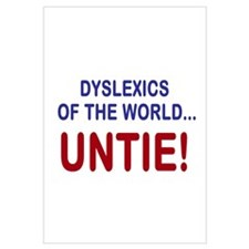 Dyslexics of the World Wall Art
