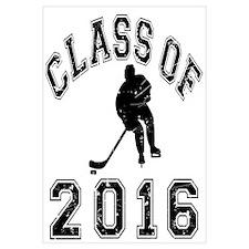 Class Of 2016 Hockey Wall Art