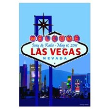 Personalized Las Vegas Sign Wall Art
