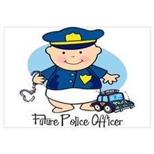 Future Police Officer Wall Art
