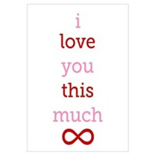 Infinitive Love Wall Art